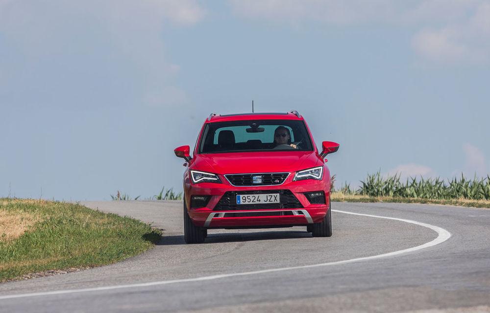 Cum arată ziua Seat: off-road cu Ateca, ture de circuit cu Leon ST Cupra și test-drive cu Ateca FR - Poza 15