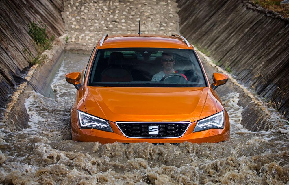 Cum arată ziua Seat: off-road cu Ateca, ture de circuit cu Leon ST Cupra și test-drive cu Ateca FR - Poza 21