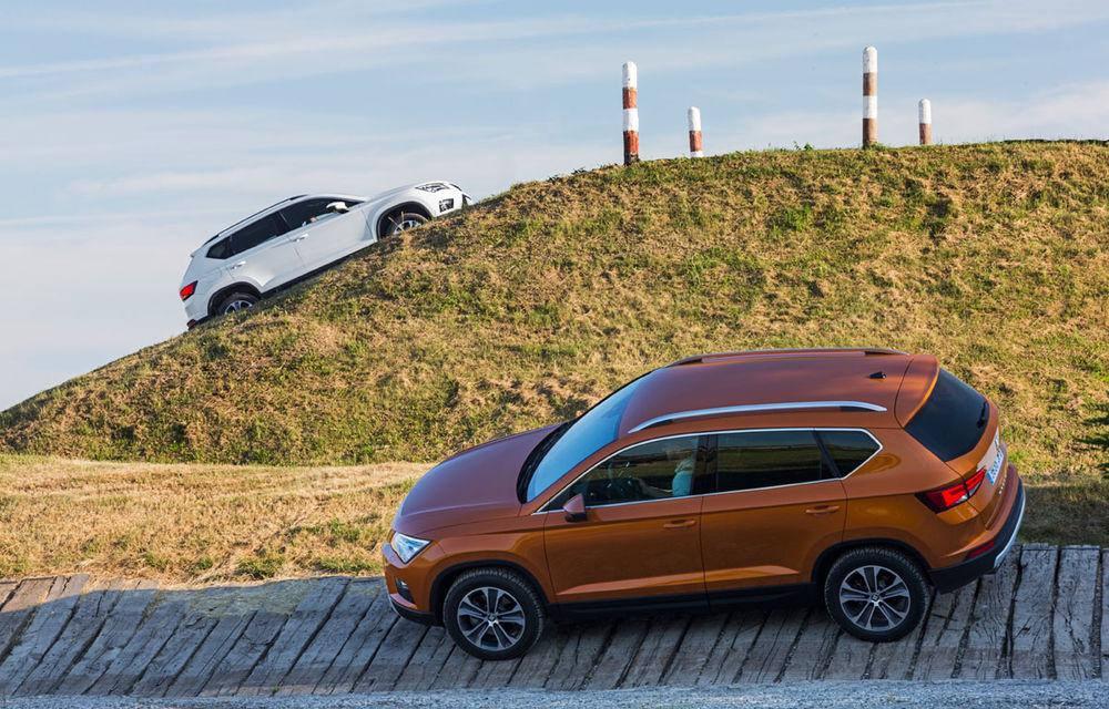 Cum arată ziua Seat: off-road cu Ateca, ture de circuit cu Leon ST Cupra și test-drive cu Ateca FR - Poza 26