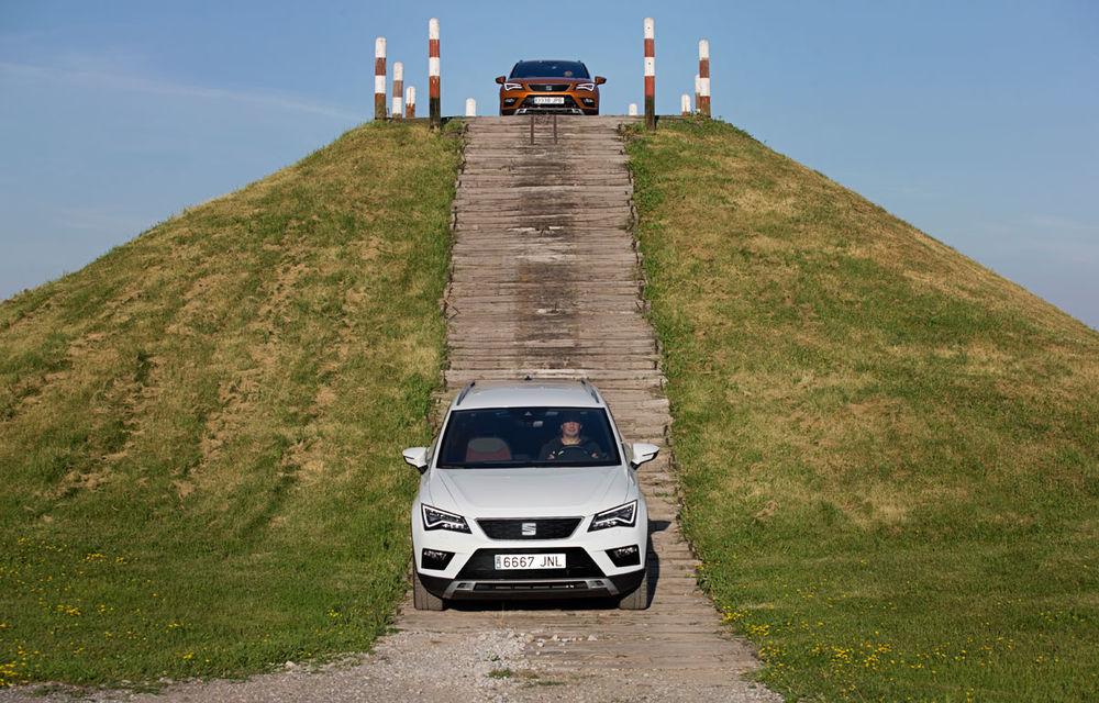 Cum arată ziua Seat: off-road cu Ateca, ture de circuit cu Leon ST Cupra și test-drive cu Ateca FR - Poza 23