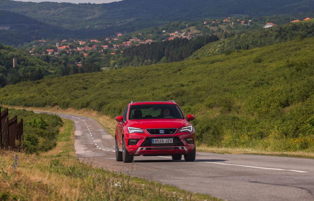 Cum arată ziua Seat: off-road cu Ateca, ture de circuit cu Leon ST Cupra și test-drive cu Ateca FR - Poza 14