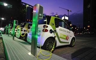 """Un nou proiect eco: E.ON și Mol vor instala 40 de stații de încărcare pentru vehiculele """"verzi"""""""