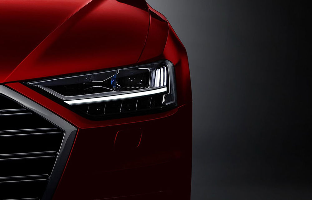 Detalii noi despre Audi A8: suspensie conectată la o cameră video și raza de bracaj a lui Audi A4 - Poza 1