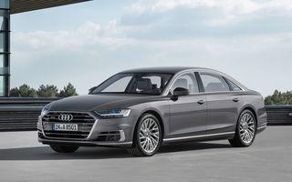 Noul Audi A8: date esențiale despre nava-amiral a germanilor