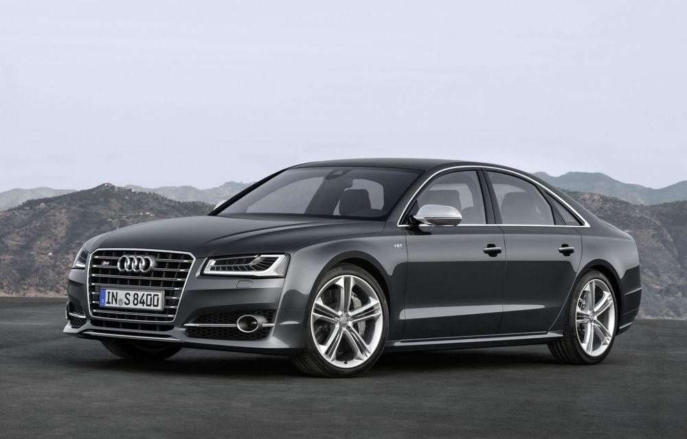 Detalii despre noile generații Audi S8 și S8 Plus: versiunile sportive ale lui A8 vor prelua propulsiile de la Porsche Panamera Turbo - Poza 1