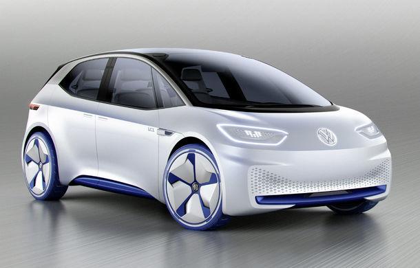 Volkswagen va extinde gama de electrice cu încă un sedan: conceptul noului model, așteptat după lansarea lui ID - Poza 1