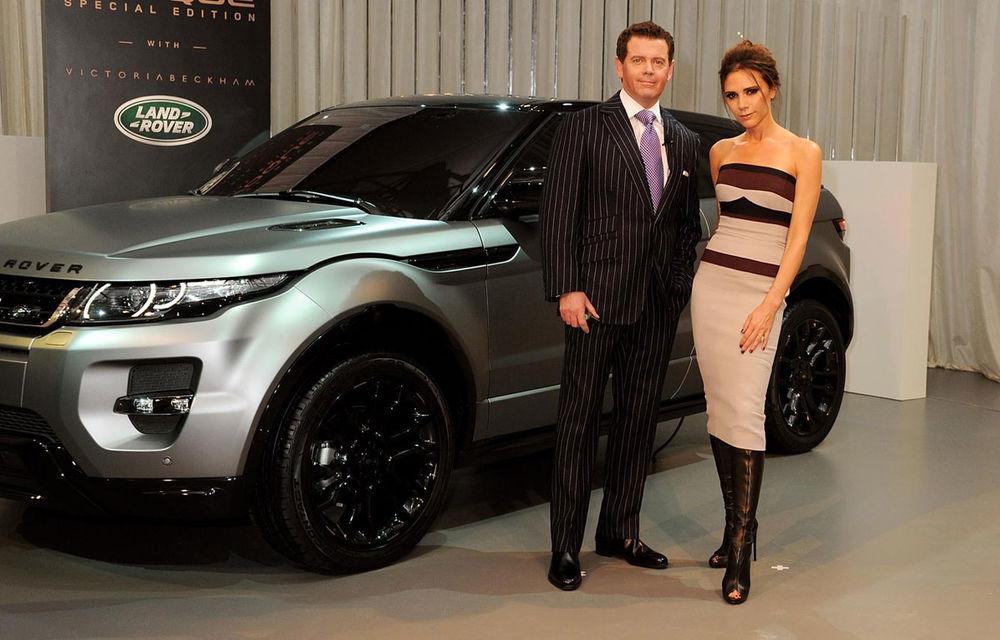 """Șeful de design Land Rover o atacă pe Victoria Beckham la cinci ani de la debutul unui Evoque care purta numele vedetei: """"Și-a arogat meritele unui designer"""" - Poza 1"""