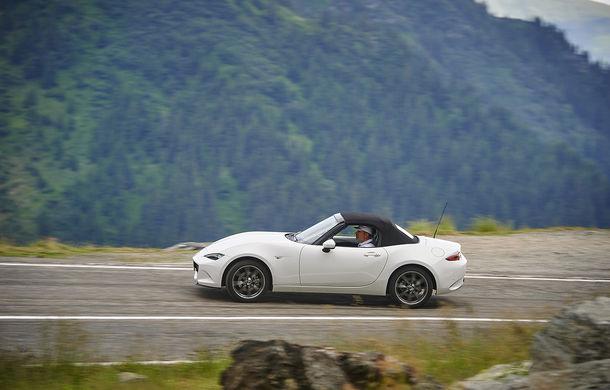 Odă Bucuriei. O zi cu Mazda MX-5 pe Transfăgărășan - Poza 59