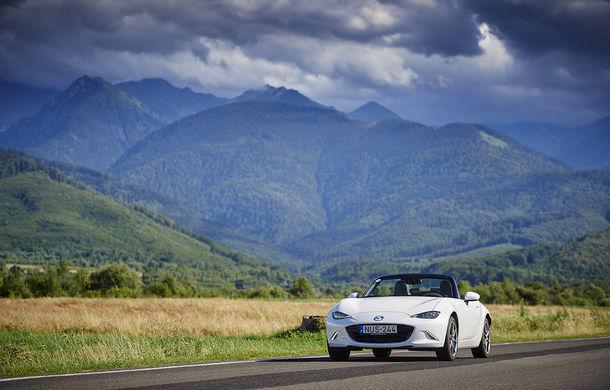 Odă Bucuriei. O zi cu Mazda MX-5 pe Transfăgărășan - Poza 68