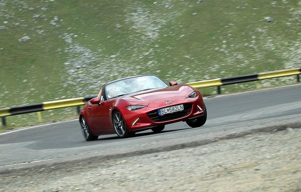 Odă Bucuriei. O zi cu Mazda MX-5 pe Transfăgărășan - Poza 10