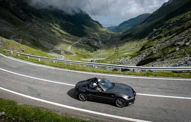 Odă Bucuriei. O zi cu Mazda MX-5 pe Transfăgărășan - Poza 44