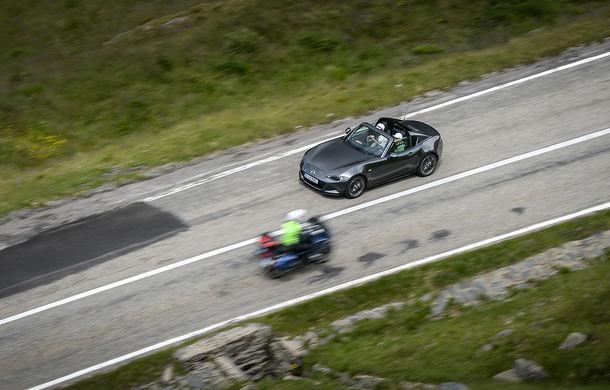 Odă Bucuriei. O zi cu Mazda MX-5 pe Transfăgărășan - Poza 48
