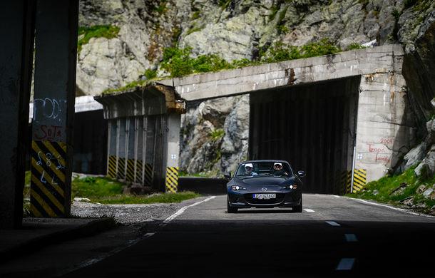 Odă Bucuriei. O zi cu Mazda MX-5 pe Transfăgărășan - Poza 46