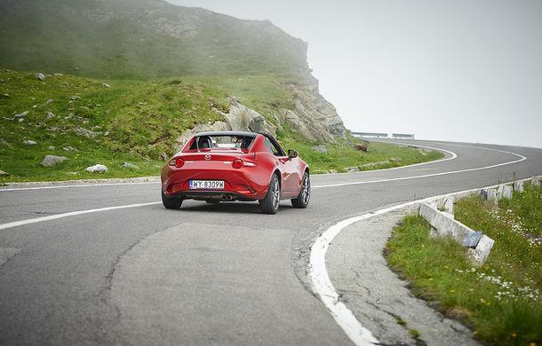 Odă Bucuriei. O zi cu Mazda MX-5 pe Transfăgărășan - Poza 38