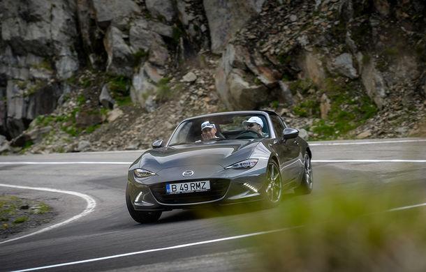 Odă Bucuriei. O zi cu Mazda MX-5 pe Transfăgărășan - Poza 47