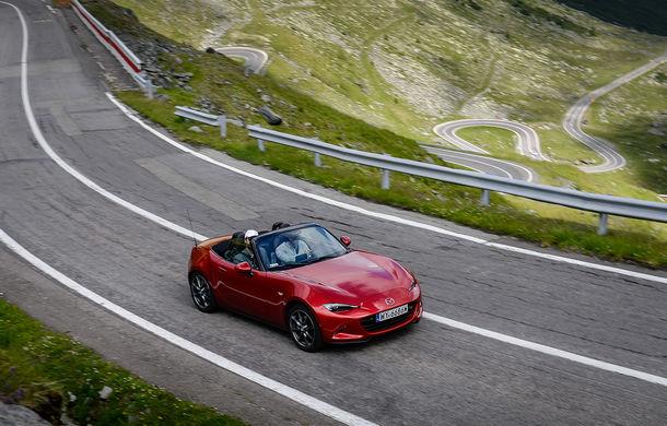 Odă Bucuriei. O zi cu Mazda MX-5 pe Transfăgărășan - Poza 45