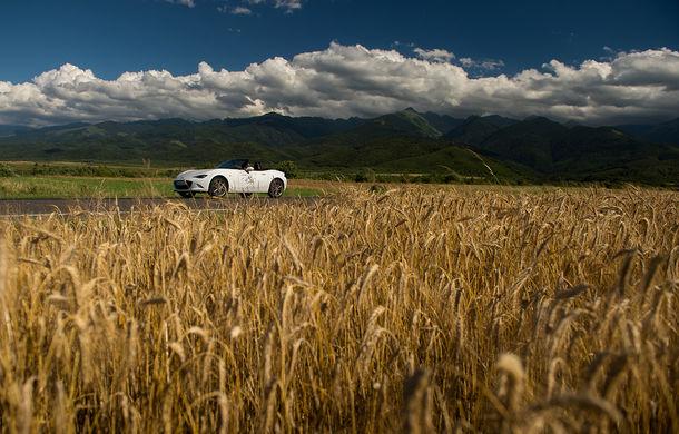 Odă Bucuriei. O zi cu Mazda MX-5 pe Transfăgărășan - Poza 70