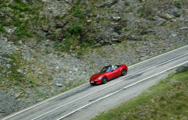 Odă Bucuriei. O zi cu Mazda MX-5 pe Transfăgărășan - Poza 9