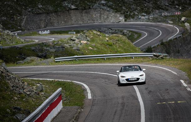 Odă Bucuriei. O zi cu Mazda MX-5 pe Transfăgărășan - Poza 66