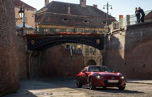 Odă Bucuriei. O zi cu Mazda MX-5 pe Transfăgărășan - Poza 72