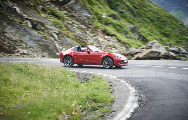 Odă Bucuriei. O zi cu Mazda MX-5 pe Transfăgărășan - Poza 41