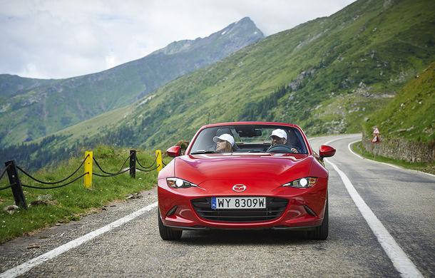 Odă Bucuriei. O zi cu Mazda MX-5 pe Transfăgărășan - Poza 25