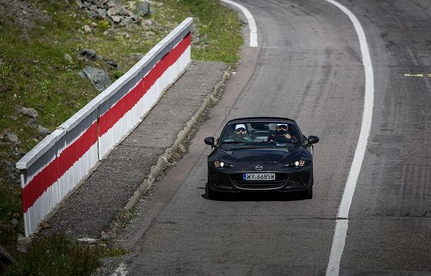 Odă Bucuriei. O zi cu Mazda MX-5 pe Transfăgărășan - Poza 67