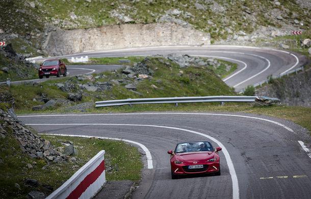 Odă Bucuriei. O zi cu Mazda MX-5 pe Transfăgărășan - Poza 65