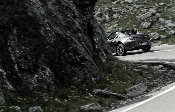 Odă Bucuriei. O zi cu Mazda MX-5 pe Transfăgărășan - Poza 12