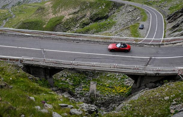 Odă Bucuriei. O zi cu Mazda MX-5 pe Transfăgărășan - Poza 53