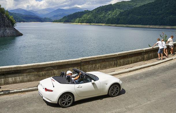 Odă Bucuriei. O zi cu Mazda MX-5 pe Transfăgărășan - Poza 58