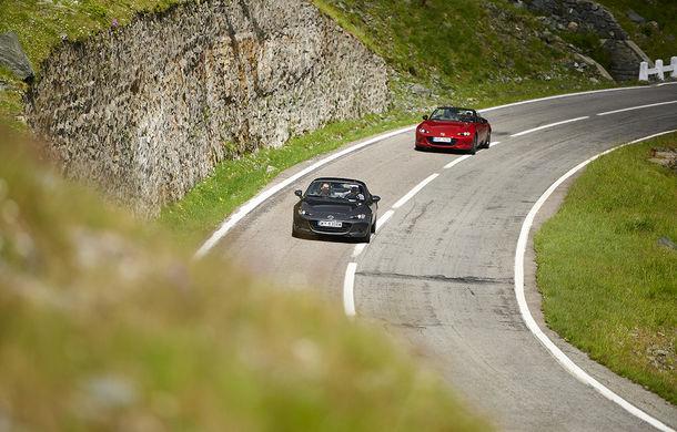 Odă Bucuriei. O zi cu Mazda MX-5 pe Transfăgărășan - Poza 35