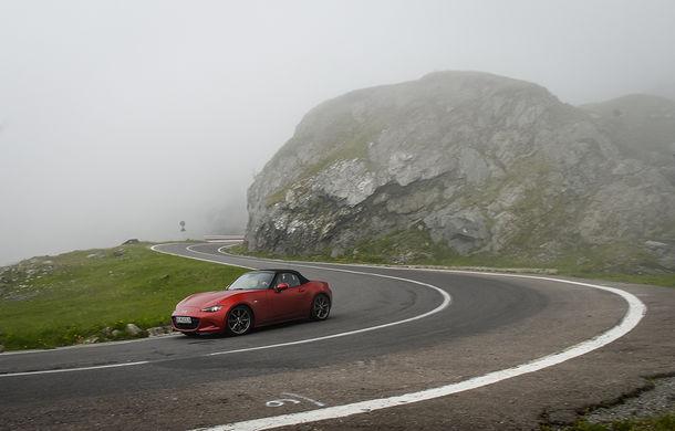 Odă Bucuriei. O zi cu Mazda MX-5 pe Transfăgărășan - Poza 54