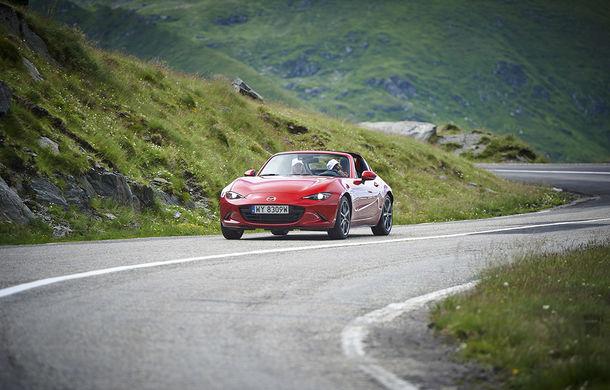Odă Bucuriei. O zi cu Mazda MX-5 pe Transfăgărășan - Poza 42