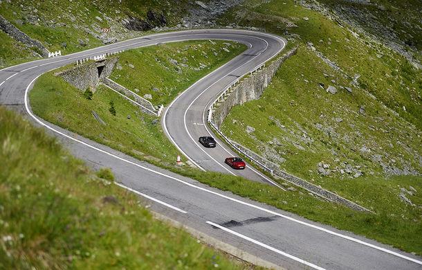 Odă Bucuriei. O zi cu Mazda MX-5 pe Transfăgărășan - Poza 34