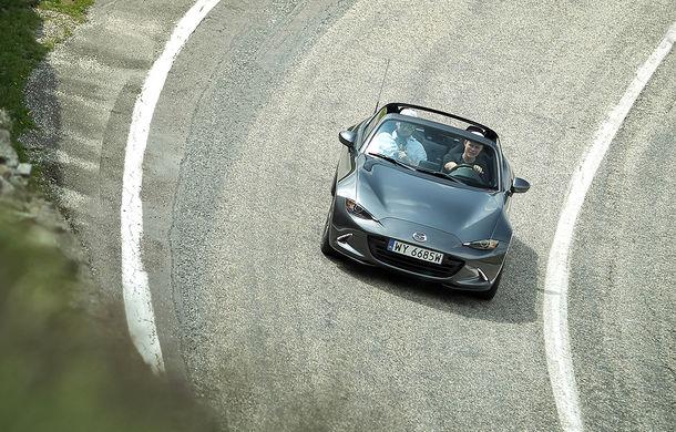 Odă Bucuriei. O zi cu Mazda MX-5 pe Transfăgărășan - Poza 11