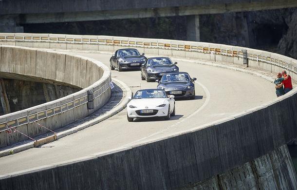 Odă Bucuriei. O zi cu Mazda MX-5 pe Transfăgărășan - Poza 57