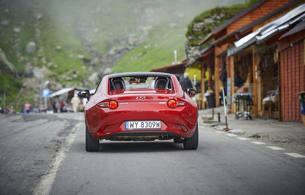 Odă Bucuriei. O zi cu Mazda MX-5 pe Transfăgărășan - Poza 39