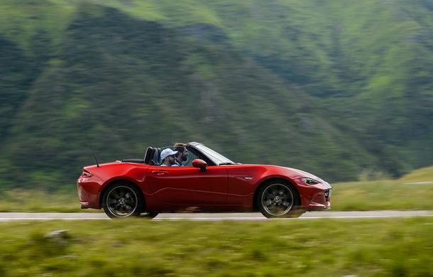 Odă Bucuriei. O zi cu Mazda MX-5 pe Transfăgărășan - Poza 51