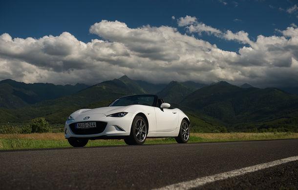 Odă Bucuriei. O zi cu Mazda MX-5 pe Transfăgărășan - Poza 69