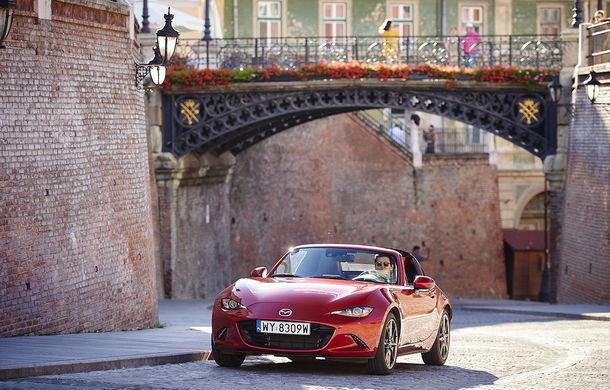 Odă Bucuriei. O zi cu Mazda MX-5 pe Transfăgărășan - Poza 71