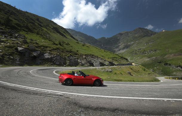 Odă Bucuriei. O zi cu Mazda MX-5 pe Transfăgărășan - Poza 6