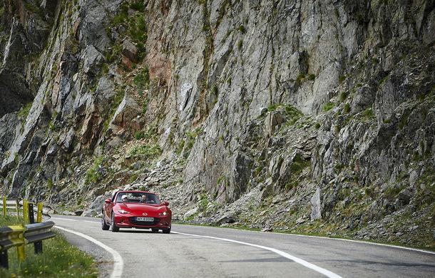 Odă Bucuriei. O zi cu Mazda MX-5 pe Transfăgărășan - Poza 40