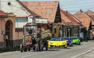 FOTO + VIDEO: Cu Lamborghini Huracan prin România. Imagini spectaculoase de pe Transfăgărășan