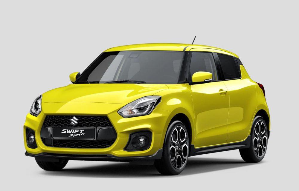 Istoria continuă: Suzuki lansează noul Swift Sport în cadrul Salonului Auto de la Frankfurt - Poza 1