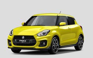 Istoria continuă: Suzuki lansează noul Swift Sport în cadrul Salonului Auto de la Frankfurt