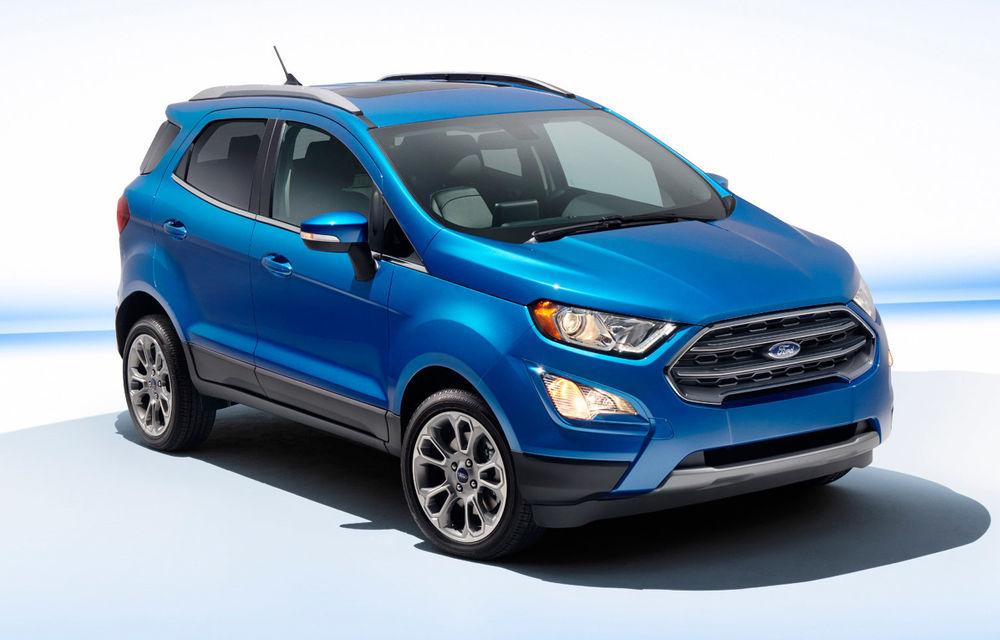 Toate cărțile pe EcoSport: Ford renunță la producția lui B-Max și angajează încă 500 de persoane la Craiova pentru noul SUV - Poza 2