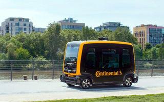 Așa vor arăta taxiurile viitorului: Continental Cube este un vehicul care se va conduce singur în orașele aglomerate