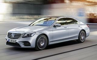 Mercedes-Benz Clasa S facelift are prețuri pentru piața din România: nava-amiral pleacă de la 96.000 de euro