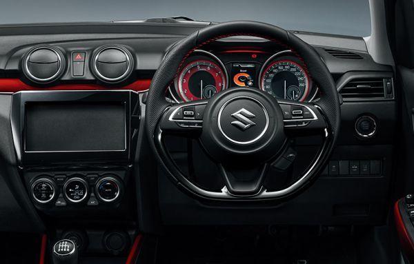 Ambianță de pocket-rocket: imagini cu interiorul viitorului Suzuki Swift Sport - Poza 3